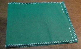 縫い止まりまで縫った口布
