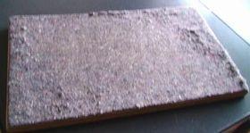 表布と薄紙を取り去った後のアイロン台