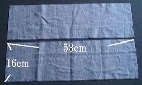 Fabric for shoulder strap