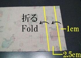 折りライン