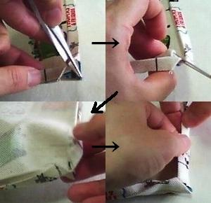 Use the tweezers
