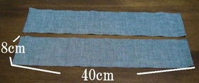 fabric for strap