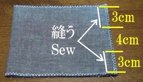 sew the top fabric