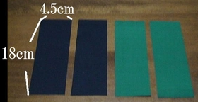 fabric for handles