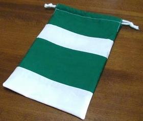 drawstring pouch (stripe style)