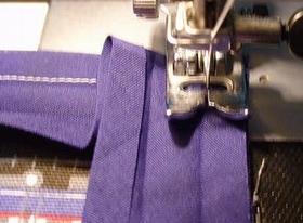 残りの角も同じように縫う