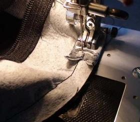 コーナーの縫い合わせ