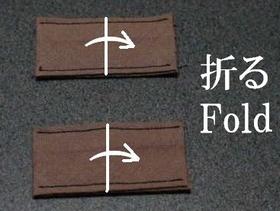 fold the tabs