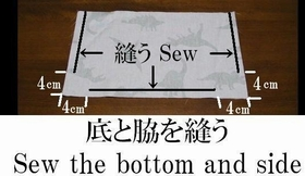 sew the bottom and side