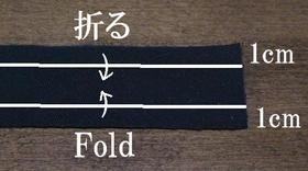 fold the patch