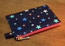 star zippered pouch