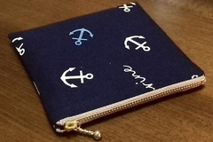 marine style zippered pouch