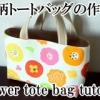 un tote bag de motif fleurs