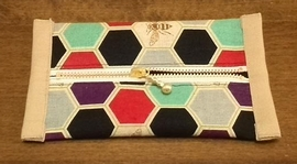 pocket tissues case with zipper