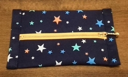 pocket tissues case with star pattern