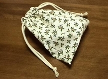 Christmas drawstring pouch