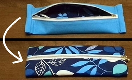 pencil case with Northern European style