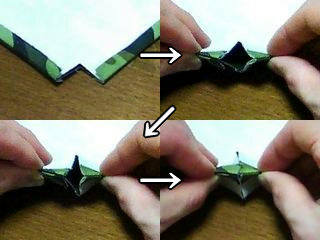make outer gusset