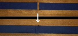 sew the back fabrics
