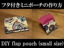 small flap pouch