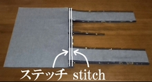 stitch the edge