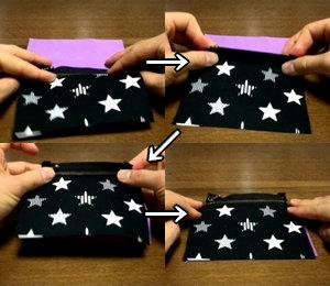 fold the fabrics
