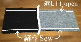 sew the top and bottom
