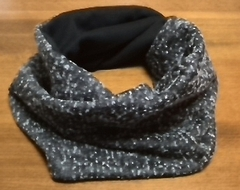 infinity snood with black color