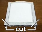 cut off extra seams