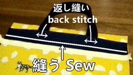 place the patch fabric