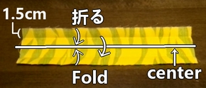 fold in four