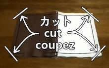 cut off extra cloths