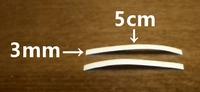 tape adhésif à double face au fer à repasser