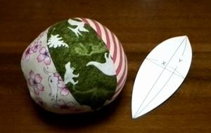 ball and pattern