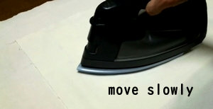 move slowly