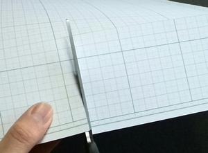 厚紙を切る